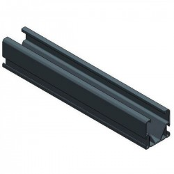 Alu Side++ profile L4167 mm - black