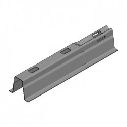 Galv roof carrier L1000x1,5mm