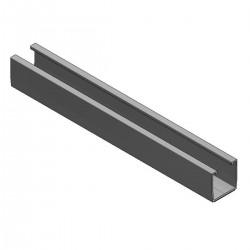 Alu trapezoidal profile L360mm + EPDM