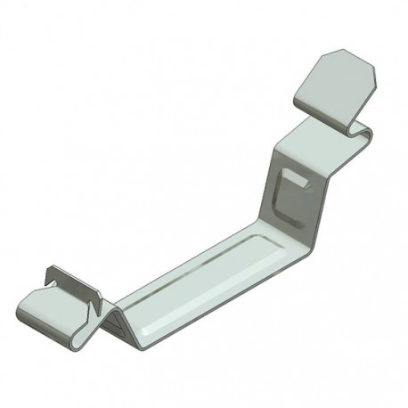 Stainless Steel cable clamp large - side